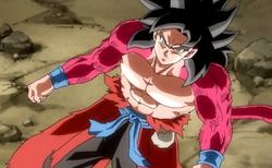 Goku Xeno Super Saiyan 4