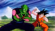 Goku e Piccolo contro Raditz