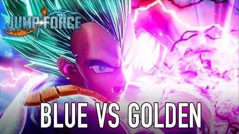 JUMP Force - PS4 XB1 PC - Super Saiyan Blue and Golden Frieza (gameplay)