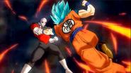 Jiren vs Goku SDBH5