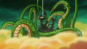 Shenron Granting Garlic Jr's Wish
