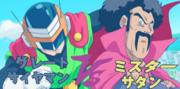 Dragon Ball Super Great Saiyaman film Great Saiyaman VS Mr. Satan (Future Trunks Saga)