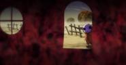 Jiren viendo a sus padres muertos