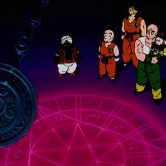 La Camera del Tempo in Dragon Ball Z.