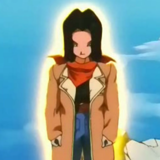 Androide 17 in Dragon Ball GT