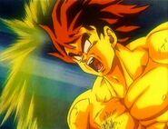 Goku semi-supersaiyajin