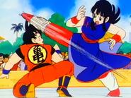La Princesa Chi-Chi VS El Saiyan Goku