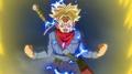 Trunks du Futur en Super Saiyan 2 (DBS anime)