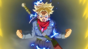 Trunks du Futur en Super Saiyan 2 (DBS anime)