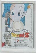 Bulma - Dragon Ball Z Collectible CD Picture Cards