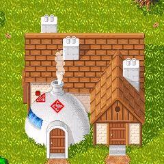 La casa di Goku in Buu's Fury.