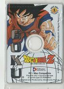 Goku - Dragon Ball Z Collectible CD Picture Cards