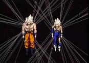 Goku y Vegeta capturados