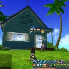 La Kame House in <i>Dragon Ball Online</i>.