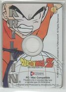Krillin - Dragon Ball Z Collectible CD Picture Cards