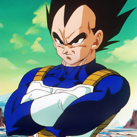 Vegeta in Dragon Ball Z, Saga dei Saiyan.