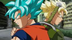 Goku is Trunks tag team