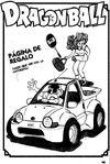 Página de regalo - Roshi manoseando a una mujer