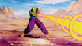 Piccolo Attacks Super Perfect Cell
