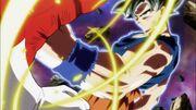 Son Goku colpisce Jiren