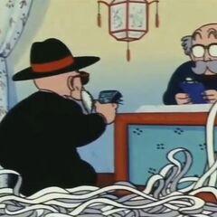 Maestro Muten paga il conto al Delicious Saikan.