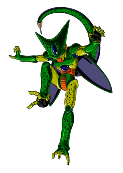 Image - Normal 1st form Cell - DBZ Androids Cell Saga.png | Dragon ...