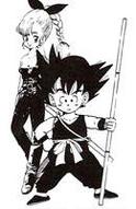 Pinchi e Goku