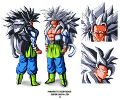 SSJ5 Goku Plans