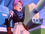 Baby entra dentro de trunks