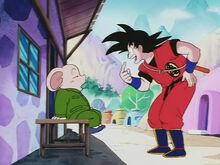 Jasmine e Son Goku