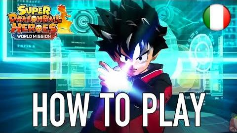 Super Dragon Ball Heroes World Mission - SWITCH PC - How to Play (Italiano Trailer)