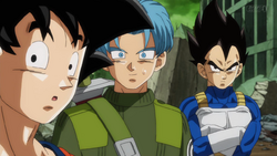 Trunks is Black and Copy-Vegeta
