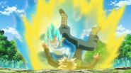 Vegeta derriba a Trunks (DBS) - Dragon Ball Wiki