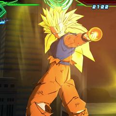Son Goku Super Saiyan 3.
