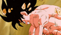 Goku about to turn Super Saiyan
