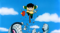 Son Gohan distrugge l'astronave di Radish
