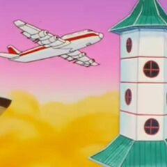 L'aereo di linea dell'Aldilà che conduce al paradiso.