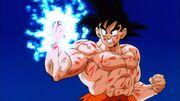 Energia Sferica di Goku vs Slug