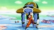 Goku sconfigge Butter