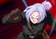Long hair Xeno Trunks anime