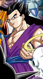 Son Gohan torneo del potere manga