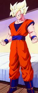Son Goku Super Saiyan Maximo Poder DBZ