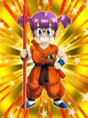Dokkan Battle Child's Play Arale Norimaki Goku Cosplay card