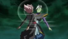 Fusion de Black Goku avec Zamasu