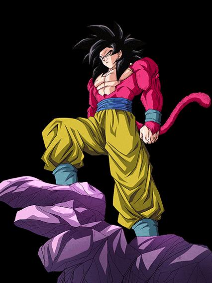 Imagen  Goku SS4 Artwork 2png  Dragon Ball Wiki  FANDOM