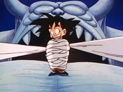 Goku amb benes