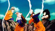 Goku si schianta