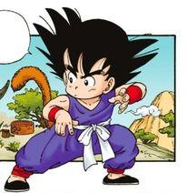 Son Goku bambino