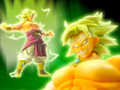 Actionpose august2006 broly bandai e