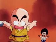 Crilin e Goku alla ricerca della pietra